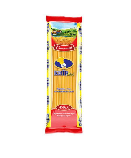 Макаронные изделия Спагетти 1,6мм 450г Киев Микс