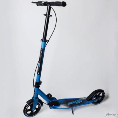 Самокат DEGREE HAND STOPPING АМИГО ( EXPLORE ) колеса 180 мм, Ручной тормоза, Цвета синии
