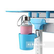Зростаюча парта + стілець для школяра Fundesk Lavoro Blue + настільна світлодіодна лампа FunDesk L1, фото 3