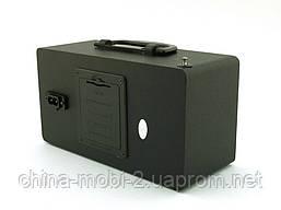 Акустика Atlanfa AT-R81 з FM і MP3, чорна, фото 2