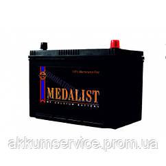 Акумулятор автомобільний Medalist (115D31L) Asia 100AH R+ 800A