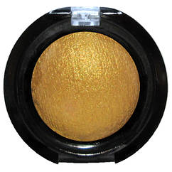 Тени LDM Золотистые Запеченные Одинарные с Микроблеском Компактные Сет В тон 17