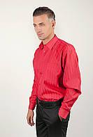 Рубашка классическая красная, нарядная Fra №8012-1 (Красный)