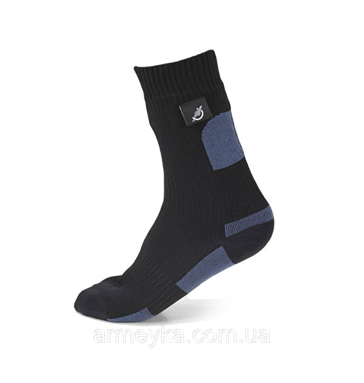 Водонепроницаемые носки Sealskinz military issue, Black/Anthracite. Великобритания, оригинал