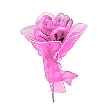Троянда на дроті світло-рожева