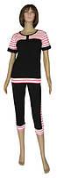 Распродажа серии! Женские летние костюмы спортивного стиля серии Нинэль ТМ УКРТРИКОТАЖ!