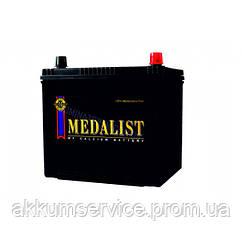Акумулятор автомобільний Medalist (55B24LS) Asia 45AH R+ 430A (Товста клема)