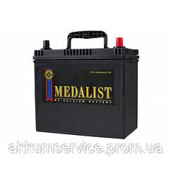 Акумулятор автомобільний Medalist Asia 58AH R+ 510А (75B24LS) Товста клема