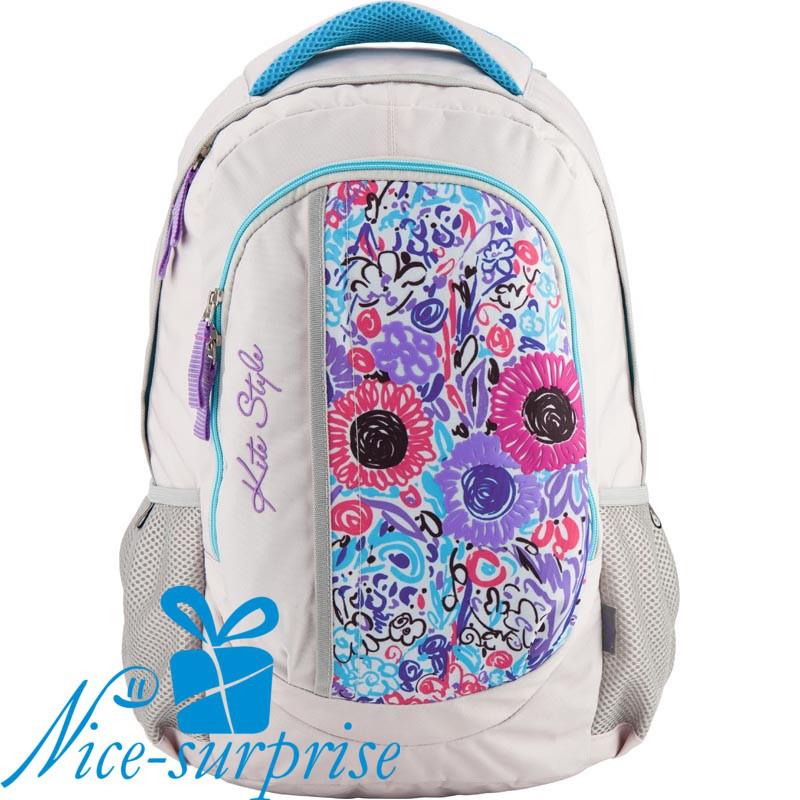 a4bf9c5ab728 Школьный рюкзак для девочки-подростка Kite Style K18-855L
