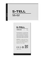 Оригинальный аккумулятор (АКБ, батарея) для S-TELL S5-02 1600mAh