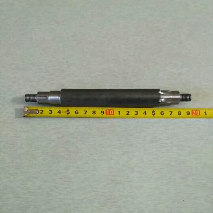 Вал привода редуктора шпонка/шлицы Z-6 15/21/16 мм L-190 мм