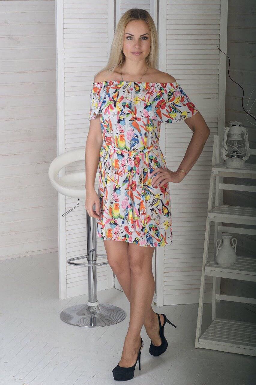 66c0139930b6aaf Женское летнее платье 110505220006 | Китай - Оптовый интернет-магазин  одежды ALLSTUFF в Одессе