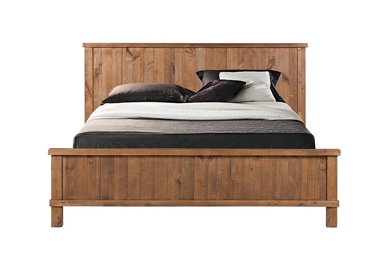 """Деревянная двуспальная кровать """"Ольвия"""""""