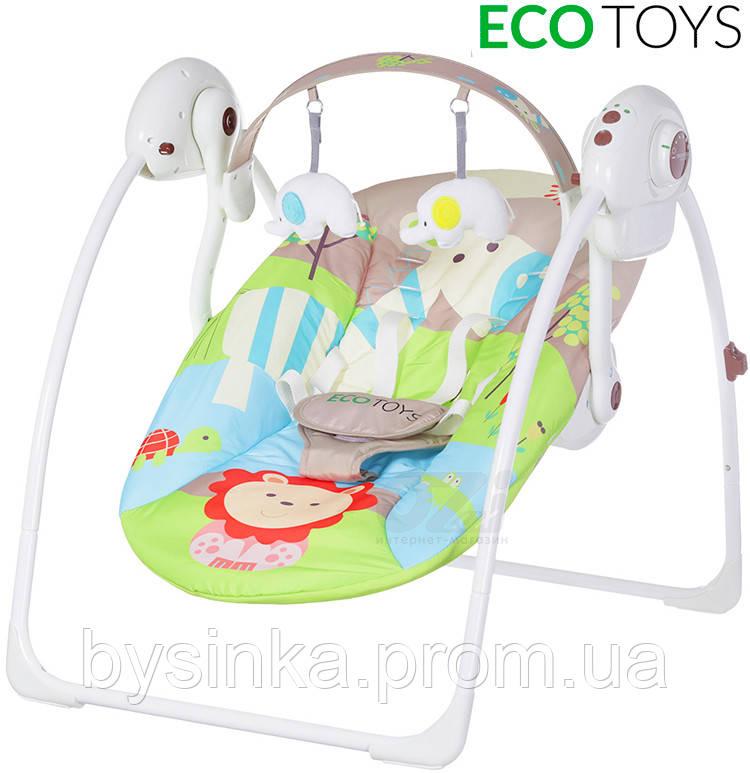 Кресло-качалка для новорожденного Джунгли марки ECOTOYS