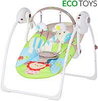 Кресло-качалка для новорожденного Джунгли марки ECOTOYS , фото 1