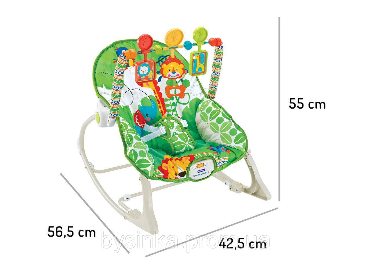 "Кресло-качалка ""Animal 3"" 8616 марки ECOTOYS"