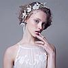 Вінок,вінок на голову весільний, діадема, Емма, прикраси для волосся аксесуар, фото 5
