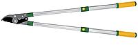 Секатор для гілок, 680-1005мм, d зрізу 45мм VERANO 71-839 косий зріз, телескопічні ручки | веткорез, secateur