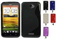 Силиконовый чехол для HTC One X s720e
