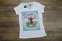 Женская футболка. ( Полномерные). L размер