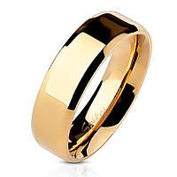 Обручальное кольцо из нержавеющей стали 316L Spikes США 15,75, США 22, Золото 585