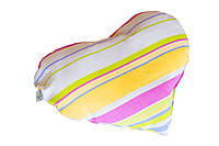 Подушка Сердце Прованс Stripe