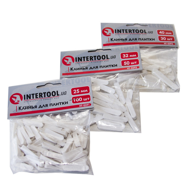 Крестики для плитки Intertool HT-0391 HT-0392 HT-0393