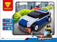 Конструктор Dreamlock Полицейская машина 44 детали (4206)
