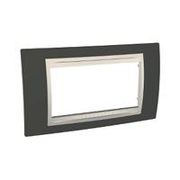 Рамка 4-мод. Unica Schneider Какао/Слоновая кость, MGU6.104.571