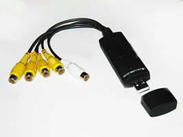 4-канальная USB карта видеозахвата EasyCap