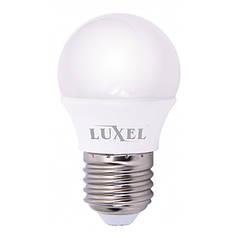 Светодиодная лампа Luxel 4W C37 E27 4000K ECO
