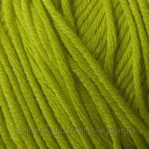 Пряжа Mondial Cotton Soft Салат