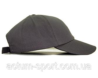 Бейсболка - кепка однотонная серый