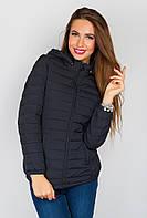 Куртка с капюшоном 729K003 (Черный)