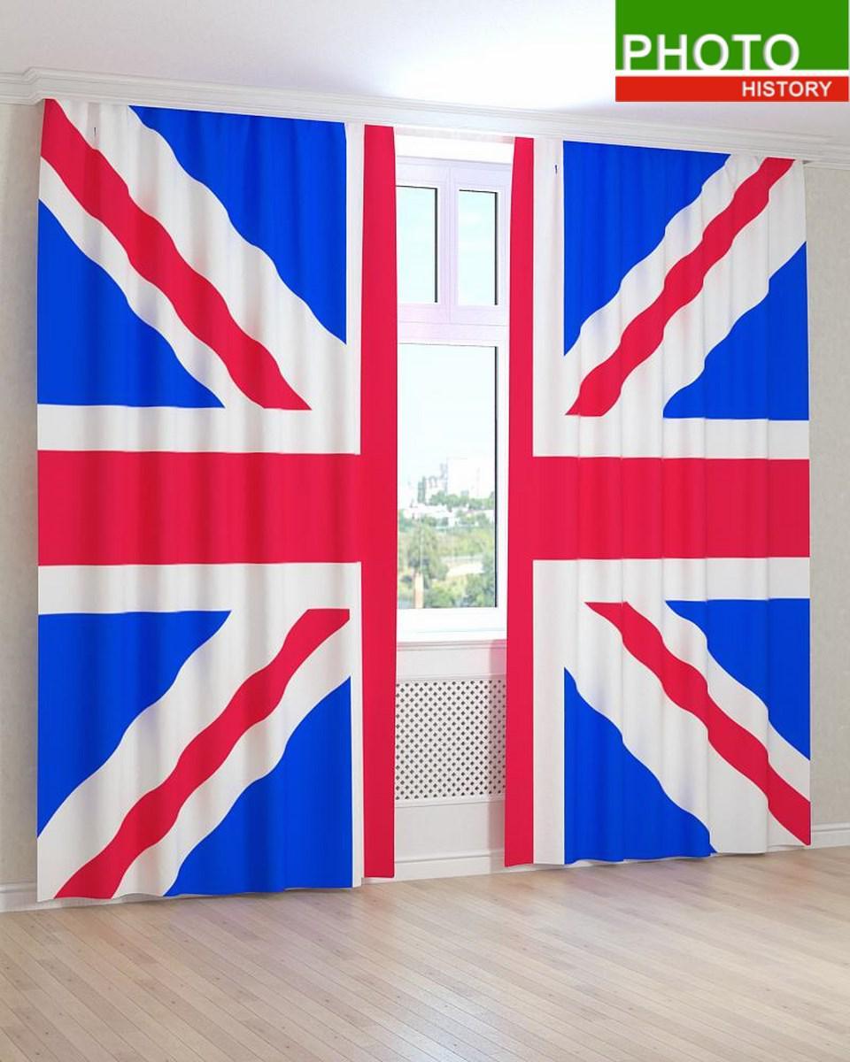 Фотошторы флаги Англии, Великобритании.