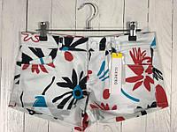 Женские белые короткие шорты с цветочным принтом ICEBERG, фото 1