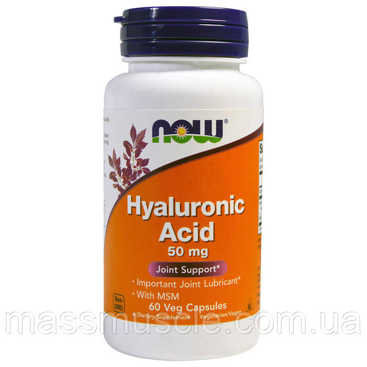 NOW Foods Hyaluronic Acid 50mg 60 caps