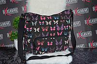 Пляжная сумка с бабочками