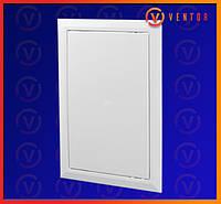 Пластикові двері ревізійні з універсальним відкриванням, 150х150 мм