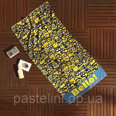 Пляжное полотенце TAC  Minions Bello (Миньоны)  75*150 см