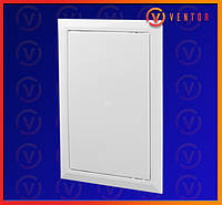 Пластиковые двери ревизионные с универсальным открыванием, 200х250 мм