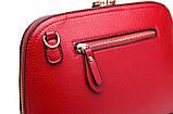 Жіноча сумочка в червоному кольорі. Стильна сумочка. Невелика сумочка через плече., фото 8