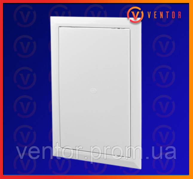 Пластиковые двери ревизионные с универсальным открыванием, 250х400 мм