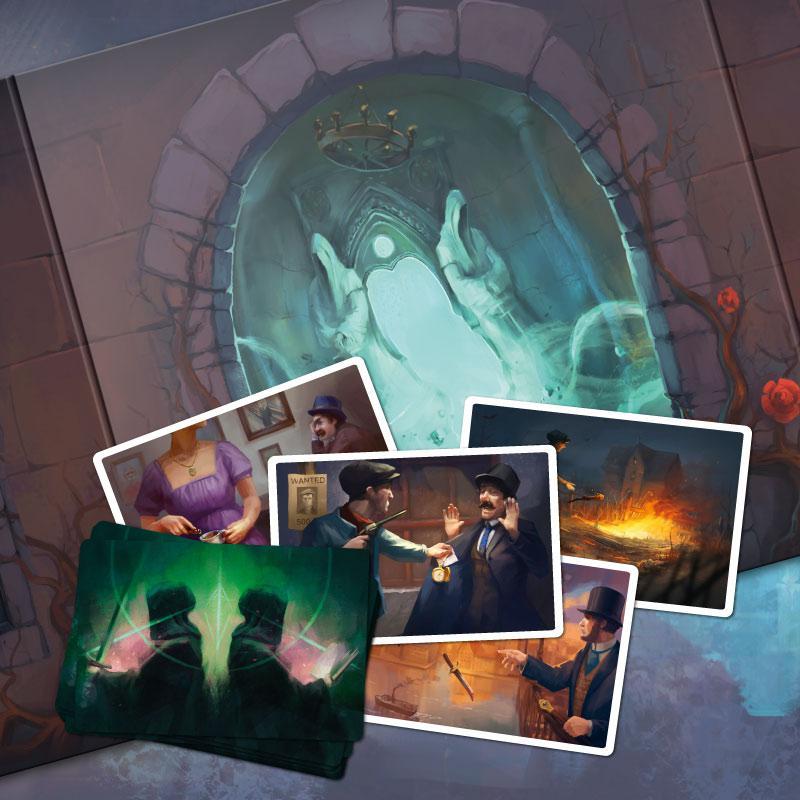 Настольная игра Мистериум: Скрытый мотив