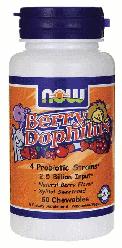 Витамины для детей NOW Foods Kids Berry Dophilus 60 Chewables