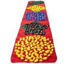 Массажный коврик «ОРТОПЕД» с камнями развивающий 200х40 см, фото 2