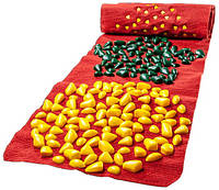 Массажный коврик «ОРТОПЕД» с камнями развивающий 200х40 см