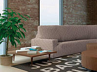 Чехол на диван натяжной 3-х местный Испания, Baltoro Linen Балторо лен