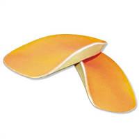 Ортопедическая стелька MEMO (Оранжевая) ВАЛЬГУС (22-36 размеры)