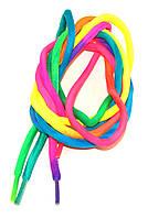 Шнурки круглые Радуга синтетические 100см